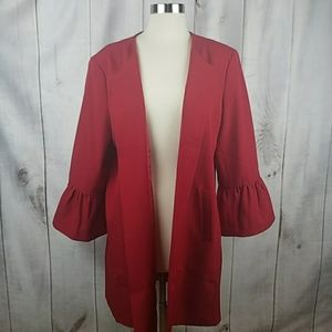 ANNE KLEIN RED FIRE BLAZER